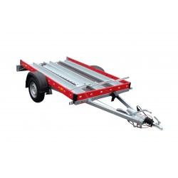 Přívěsný vozík Motomax B 10 brzděný, 1000 kg