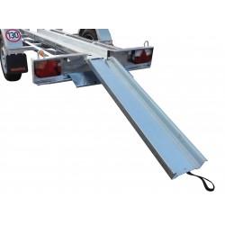 Plechový nájezd na přívěsný vozík MICROMOTO, 1100mm