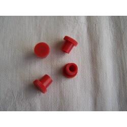 Krytka mazničky nájezdové brzdy červená