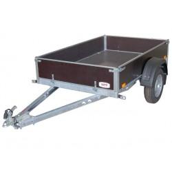 Přívěsný vozík PV UNI2 nebrzděný, 2100x1280 mm, 750 kg