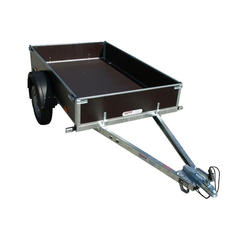 Přívěsný vozík PV1 PROFI nebrzděný, 750 kg