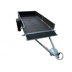 Přívěsný vozík PV1 PROFI nebrzděný, 750 kg zesílená náprava