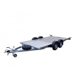 Autopřepravník PAL 2.46 var. 4.0 ver. 1.86 EXPRESS brzděný, 2460 kg, 4000 x 1860 mm, 130 km/h