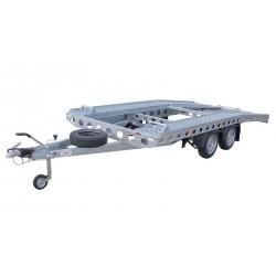 Autopřepravník PAV1 brzděný, 2460 kg, 4010 x 1920 mm, 130 km/h