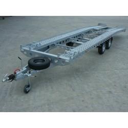Autopřepravník PAV2 ALU brzděný, 3500 kg, 8000 x 1960 mm, 100 km/h