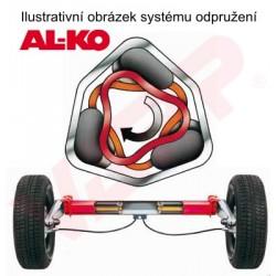 Náprava na přívěsný vozík AL-KO Plus UBR 1200-5, 1300 kg, 1400 mm, 112x5