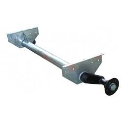 Náprava na přívěsný vozík KNOTT G 13, 1300 kg, 1320 mm, 112x5, vysoké patky (Sacher)