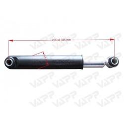 Tlumič k nápravě KNOTT typ 990001 (do 3500 kg / 1 náprava)
