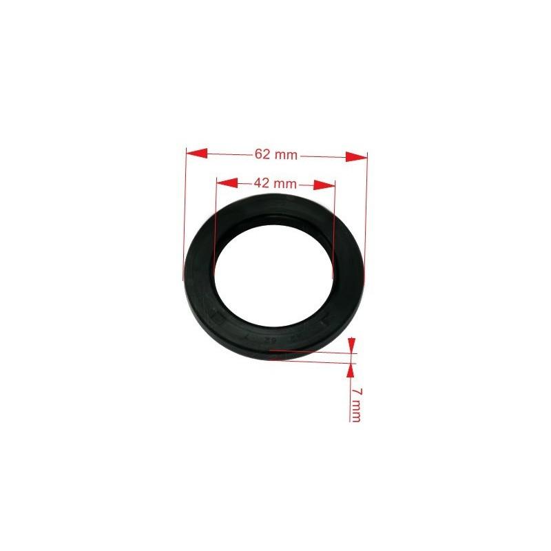 Kroužek těsnící - simering AL-KO k 2051 kužel. 42x62x7 mm
