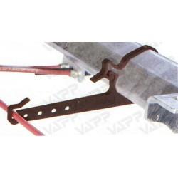 Držák brzdového lanovodu AL-KO pr. 110mm na nápravu B-1800