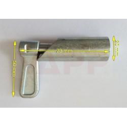 Zajišťovací kolík s pružinou (k navaření)
