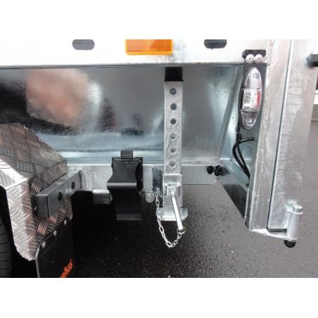 Sklopný přívěsný vozík KIPP 2700 brzděný, 2700 kg