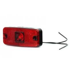 Svítilna zadní obrysová LED WAS w46 / 224, 12-24V s odrazkou