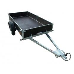 Přívěsný vozík PV1 PROFI nebrzděný, 3030x1280 mm, 750 kg, zesílená náprava