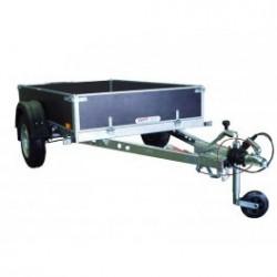 Přívěsný vozík PV1 PROFI brzděný, 2100x1280 mm, 1000 kg, 130km/h