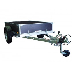 Přívěsný vozík PV1 PROFI brzděný, 2100x1280 mm, 1300 kg, 130km/h