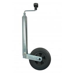 Kolečko opěrné KNOTT průměr 48 mm, plastový disk, 150 kg
