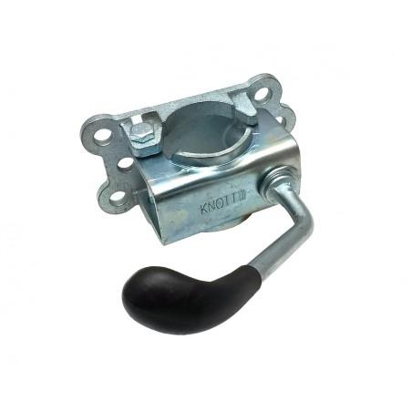 Držák opěrného kolečka 48 mm KNOTT, litina