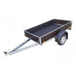 Přívěsný vozík PV1 ECO 2 nebrzděný, 2080x1110mm, 750 kg