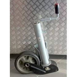 Kolečko opěrné automat. AL-KO 260x65 (ocelový disk) 800kg - výprodej