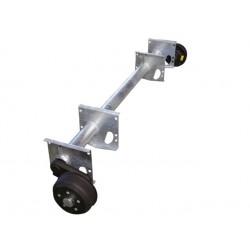 Náprava na přívěsný vozík KNOTT GB 13, 1350 kg, 1820 mm, 200x50, 112x5
