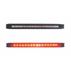 Svítilna brzdová doplňková LED čirá WAS 146, 12V