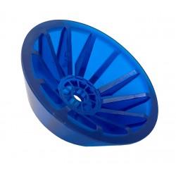 Koncovka rolny kuželová 4'' modrá PVC, pr. 130 mm, d14 mm, l40 mm