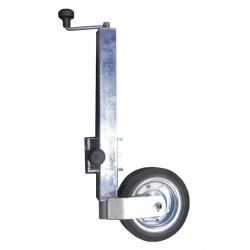 Kolečko opěrné s otočným držákem WW ST 60-PVDL-560-255 VB (ocelový disk) 500 kg