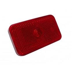 Sklo červené s odrazkou svítilny GMAK G17 (zadní obrysová)