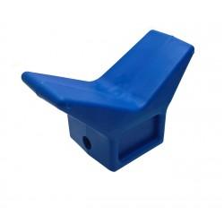 Doraz příďový M.R.E. profi modrý (160x100x75 mm)