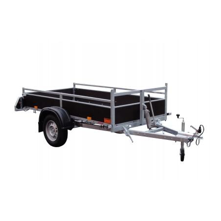 Sklopný přívěsný vozík DUNG 08.2 ZN nebrzděný, 750 kg