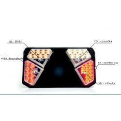 Náhradní LED modul svítilny...