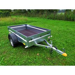 Přívěsný vozík Hobby line 1, nebrzděný, 750 kg