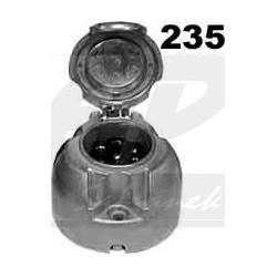 Zásuvka 7P hliniková JAEGER