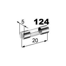Pojistka 3A skleněná 5x20mm