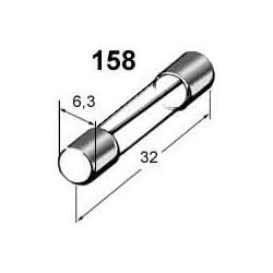 Pojistka 10A skleněná 6x32mm