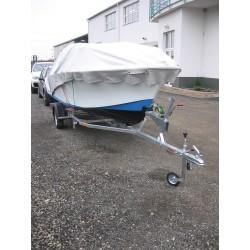 Přívěsný vozík na přepravu člunů Falkon 08.19 R13 nebrzděný, 750 kg