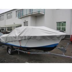 Přívěsný vozík na přepravu člunů Falkon 10.19 R13 brzděný, 1000 kg