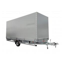 Přívěsný vozík CARGO F 13.3 brzděný, 1300 kg