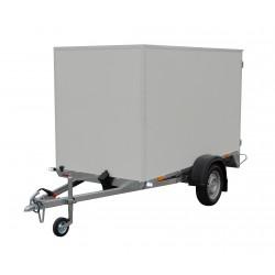 Překližkový skříňový přívěsný vozík PS A 08.1 nebrzděný, 750 kg