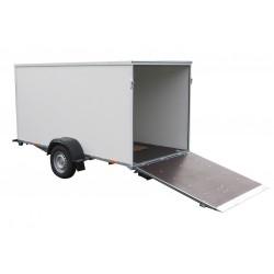 Překližkový skříňový přívěsný vozík PS A 08.2 nebrzděný, 750 kg