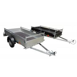 Přívěsný vozík VARIO A 08.1 nebrzděný, 750 kg