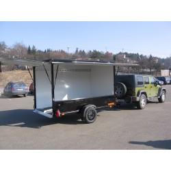 Přívěsný vozík Husky FB 35.35 brzděný, 3500 kg
